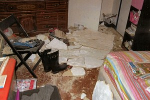 New York Apartment Ceiling Accident